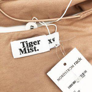 Tiger Mist Tops - Tiger Mist Bodysuit Bentley Strappy Backless Tan